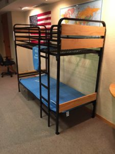 Heavy Duty Bunk Beds with Timber Wood Look