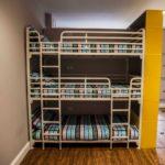 Heady Duty Metal Triple Bunk Bed