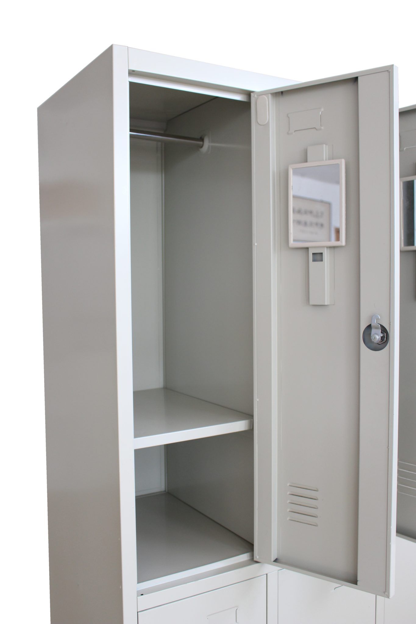 steel sliding wardrobe index height full door metal cabinet