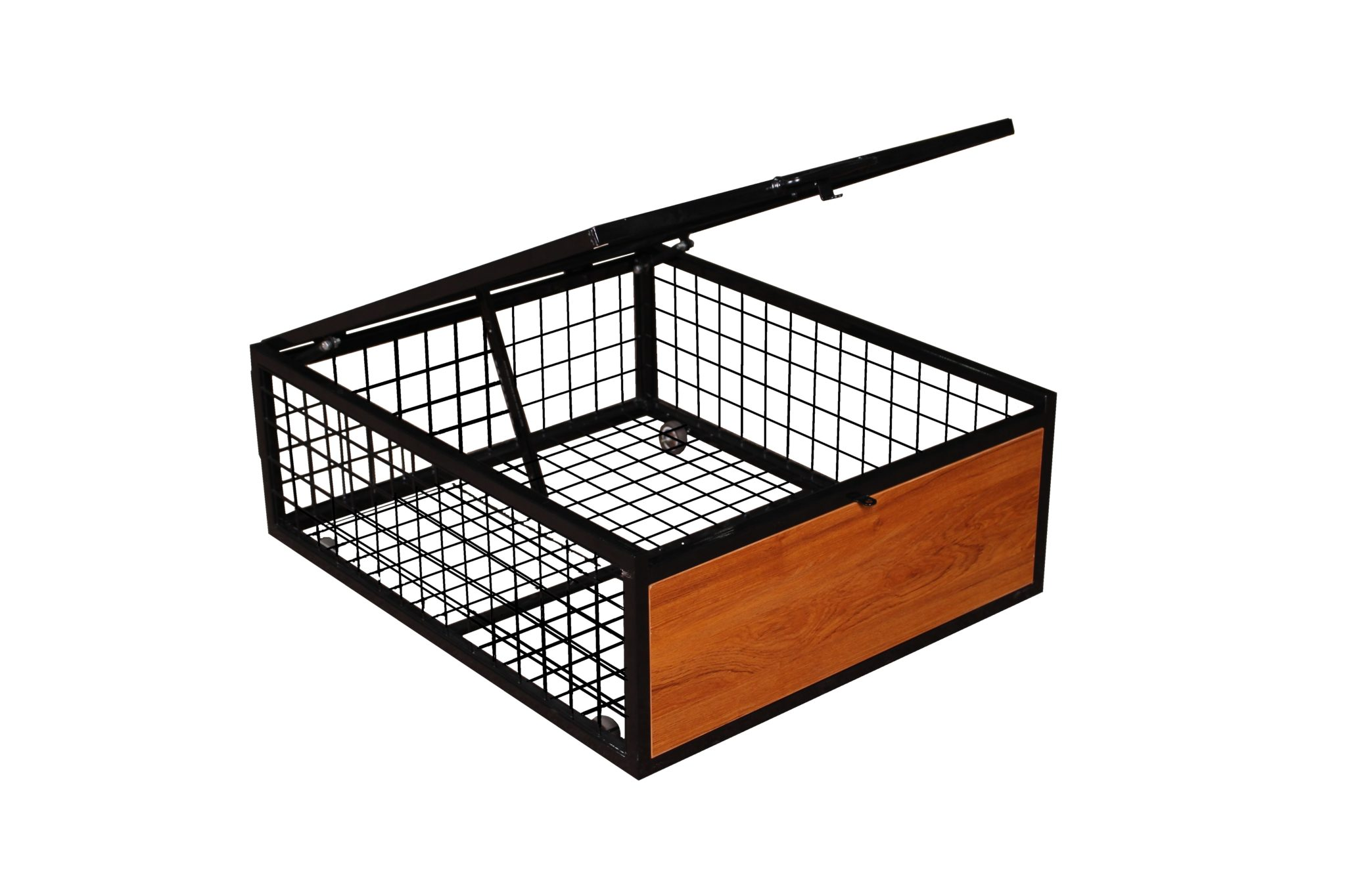 Metal Under Bed Storage Locker Heavy Duty Wire Cage