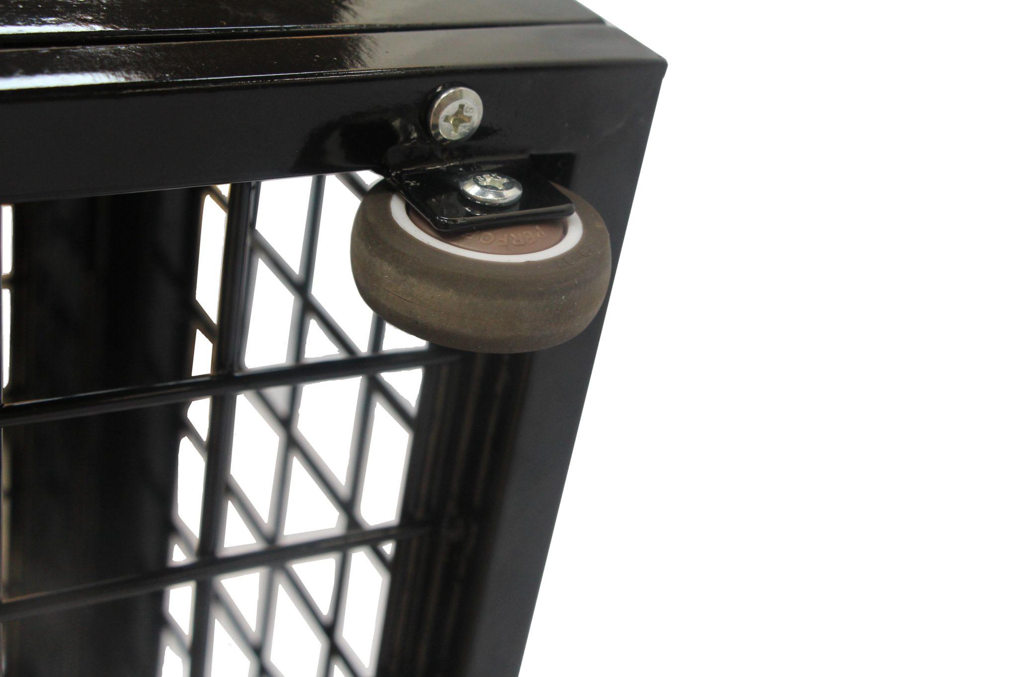 Metal Under Bed Storage Lockers Easy Glide Wheels