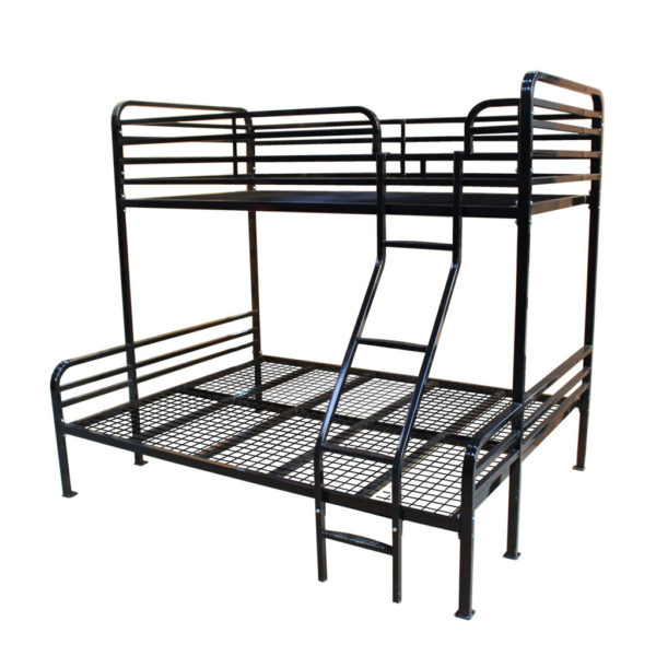 Single over Double Bunk Bed Frame