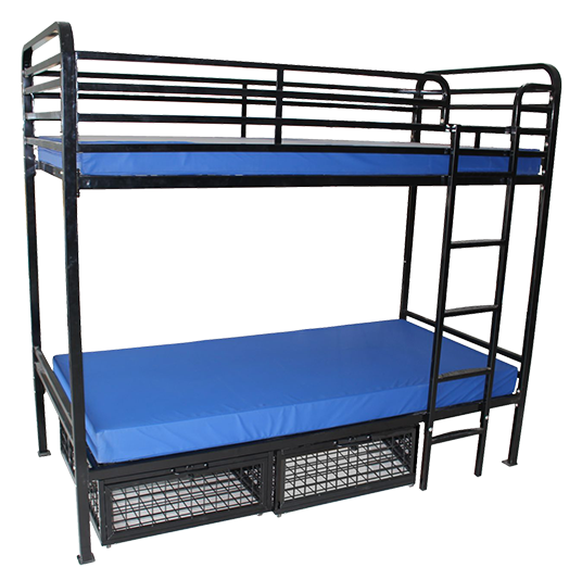 Heavy Duty Bunk Beds For Adults Commercial Grade Metal Ess Universal