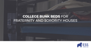 College Bunk Beds for Fraternity and Sorority Houses