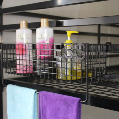 Bunk Bed Basket (Mesh Wire Bunk Bed Storage Basket)