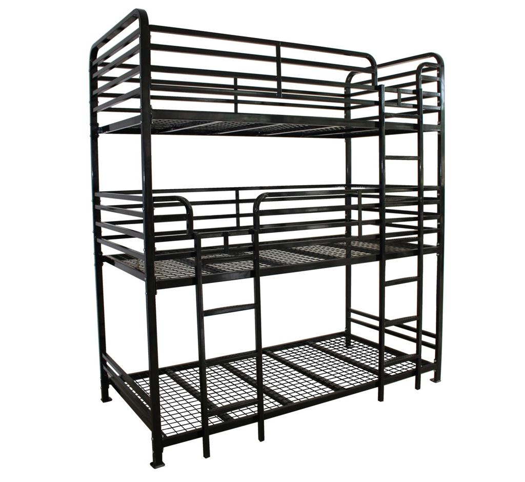 Dallas Triple Bunk Bed Heavy Duty
