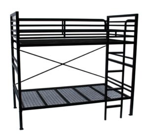STURDY DETACHABLE SINGLE OVER SINGLE BUNK BED