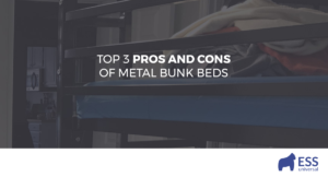 Top 3 Pros and Cons of Metal Bunk Beds