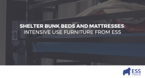 Shelter Bunk Beds and Mattresses: Intensive Use Furniture from ESS