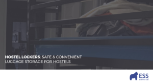 Hostel Lockers: Safe & Convenience Luggage Storage for Hostels