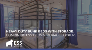 Heavy Duty Bunk Beds with Storage