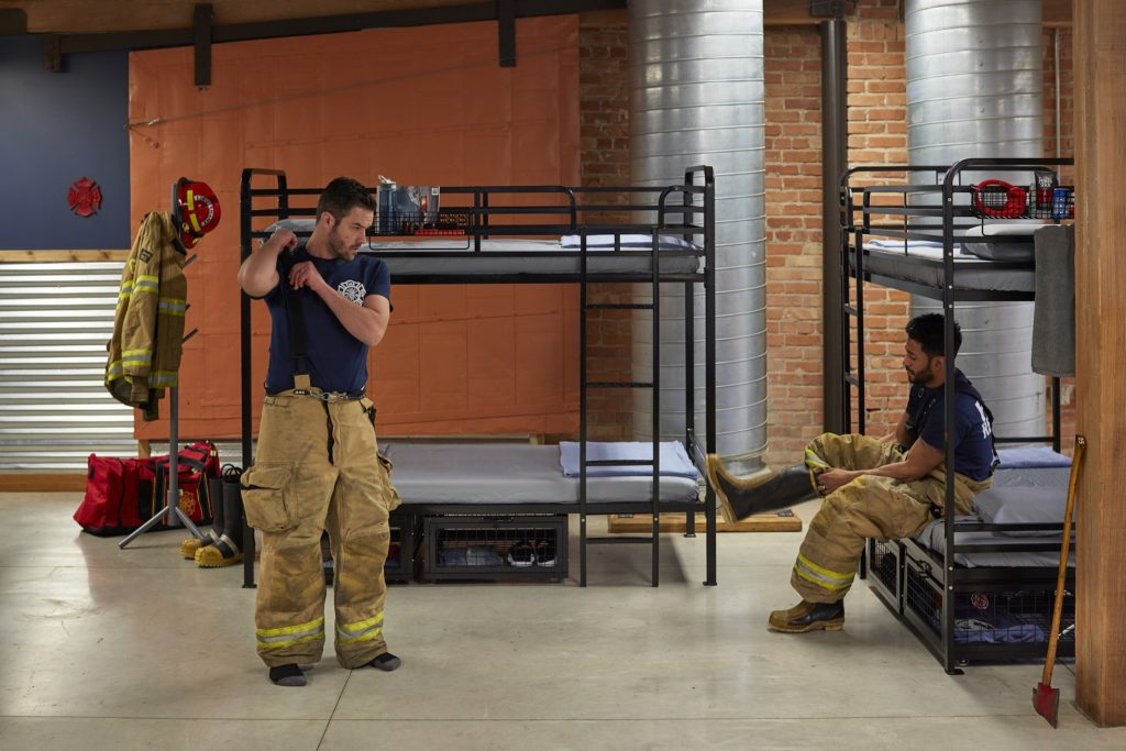 Fire Station Beds (Heavy Duty Bunk Beds)