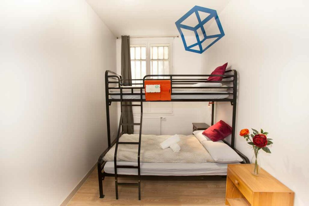 Industrial Twin Over Full Bunk Bed