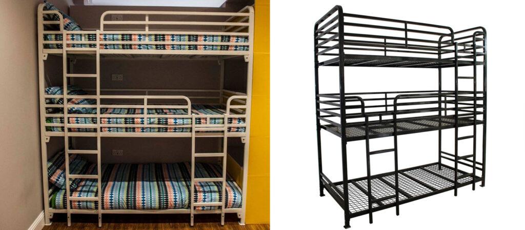 Dallas Triple Bunk Bed